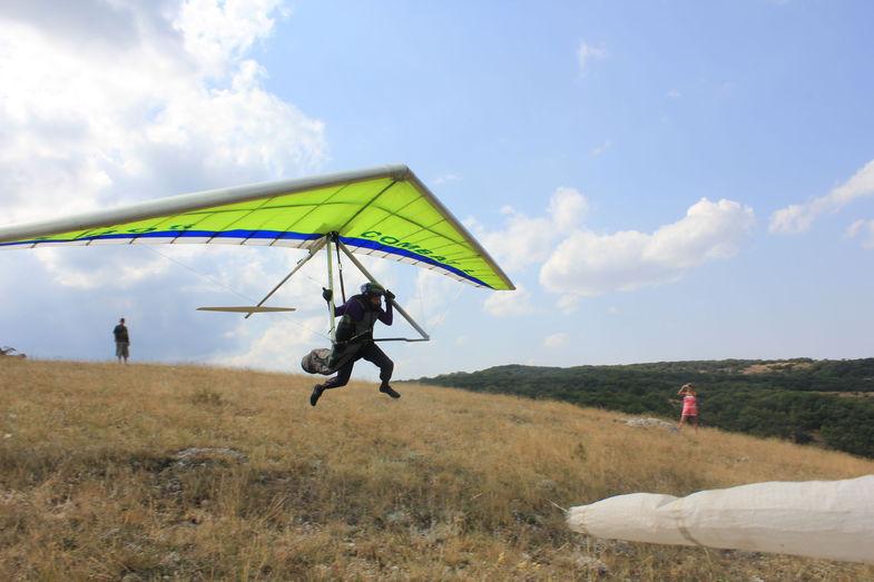 deltaplan alergare