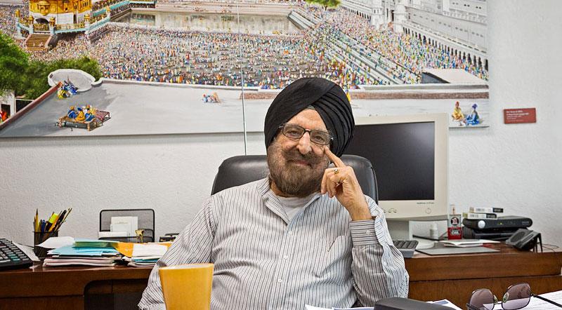 Narinder Singh Kapany, Parintele fibrei optice