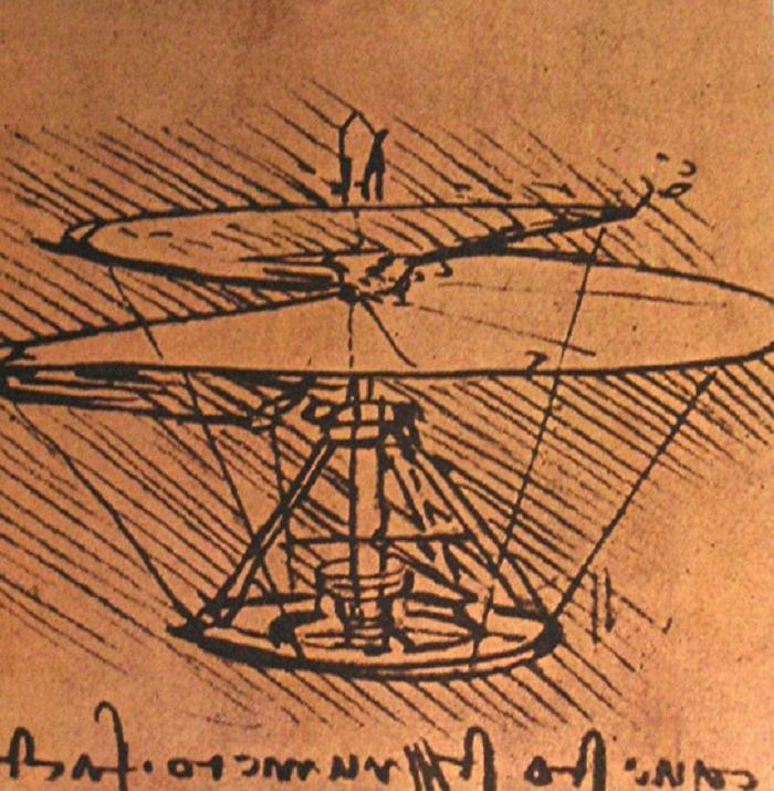 Leonardo Da Vinci inventie