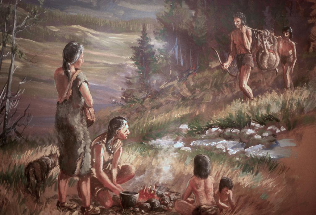 oameni preistorici