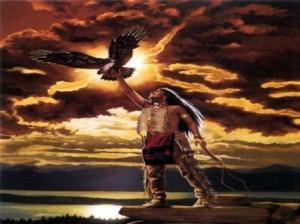 Pasarea tunetului se regaseste in legendele indienilor din America de Nord