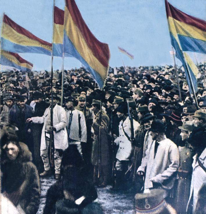 Revolutia care a dus la Marea Unire din 1918, Foto: mitchellirons.wordpress.com