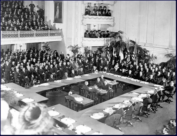 Tratatul de la Versailles, Foto: treatyversailles.wordpress.com