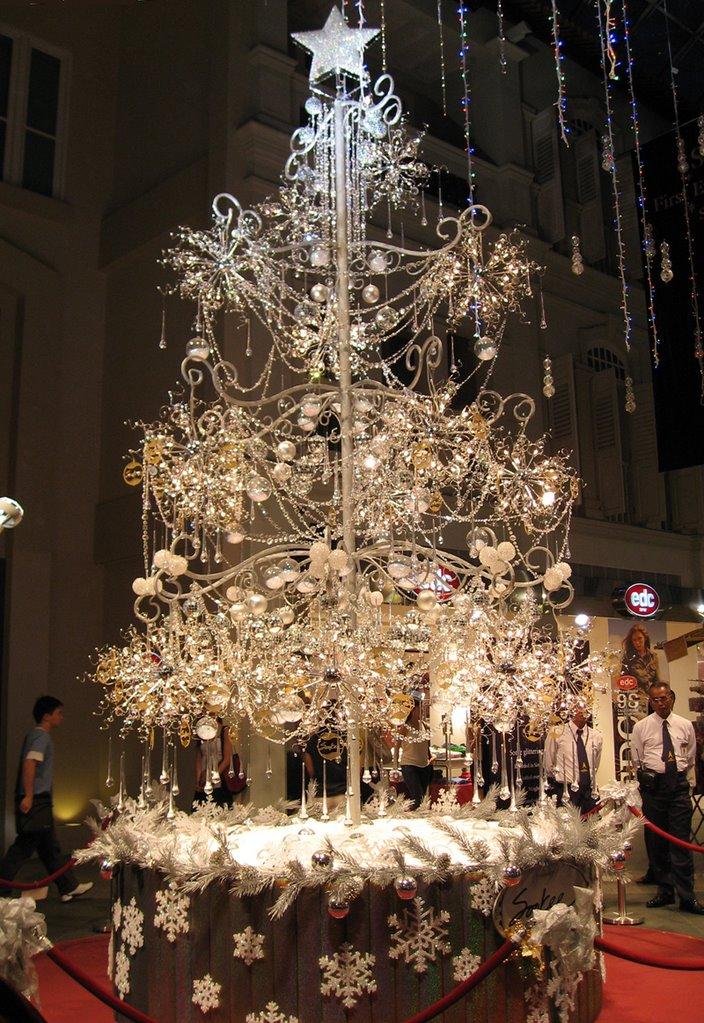 Bradul de Craciun din diamante creat de Soo Kee, Foto: blog.luxuryproperty.com