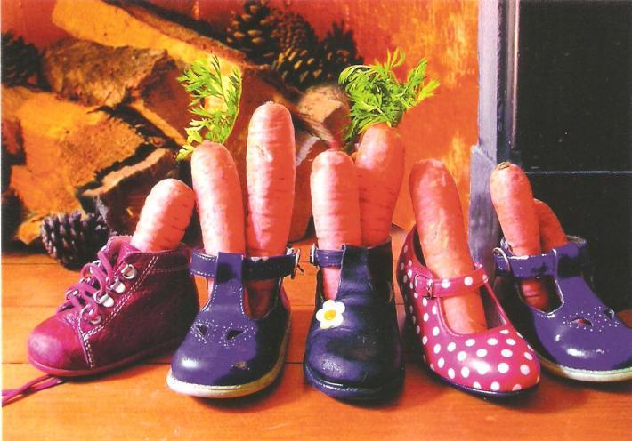 Cadourile lui Sinterklaas pentru copiii cuminti, Foto: cardcetera.wordpress.com