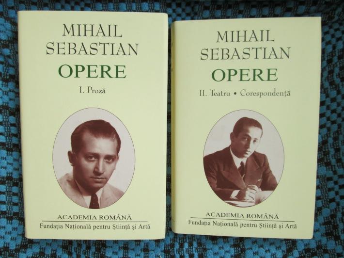 Cateva dintre operele scriitorului Mihail Sebastian, Foto: anticariatonlinebacau.blogspot.com