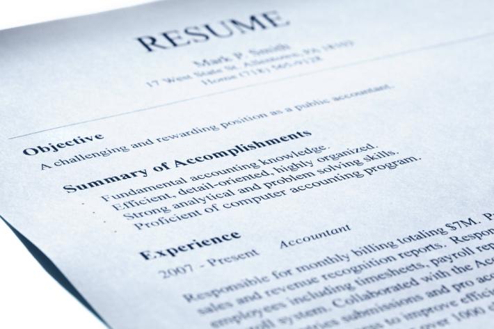 Curriculum Vitae, Foto: cvglobe.wordpress.com