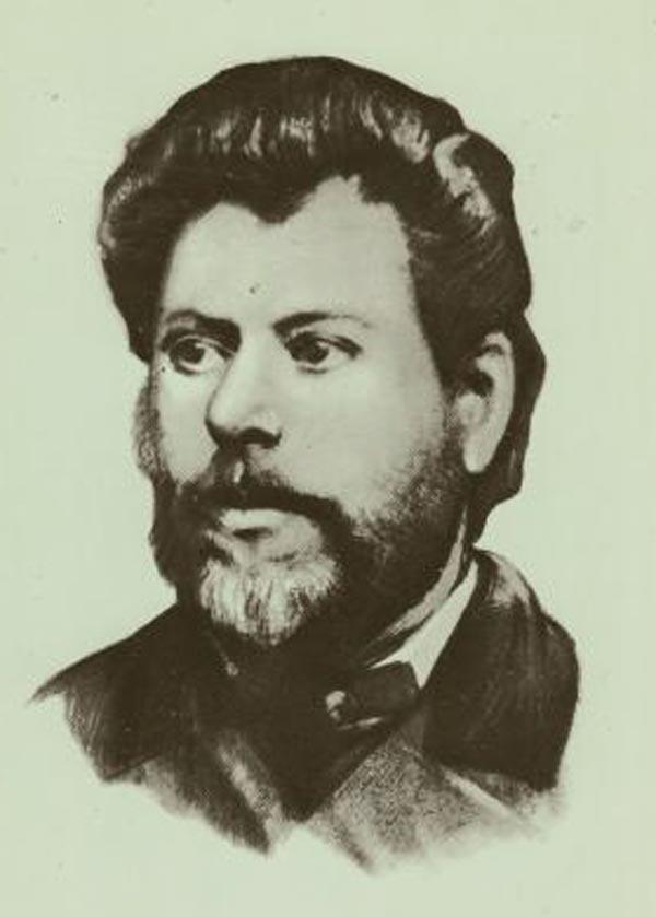 Portretul lui Ion Creanga, Foto: scrierile.com