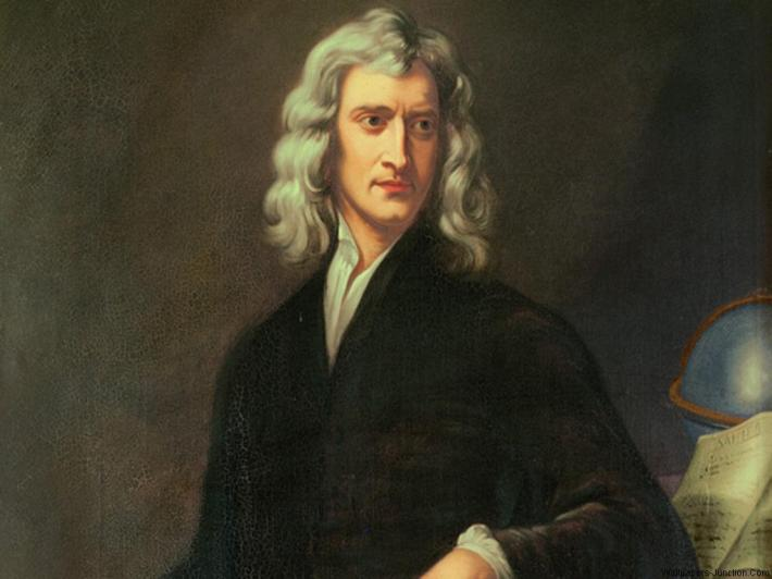 Portretul lui Isaac Newton, Foto: lookaholic.wordpress.com