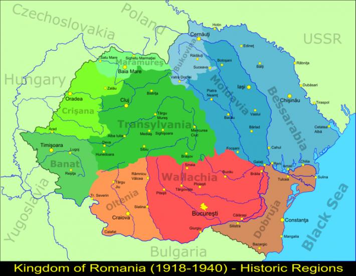 Romania Mare intre anii 1918-1940, Foto: en.wikipedia.org