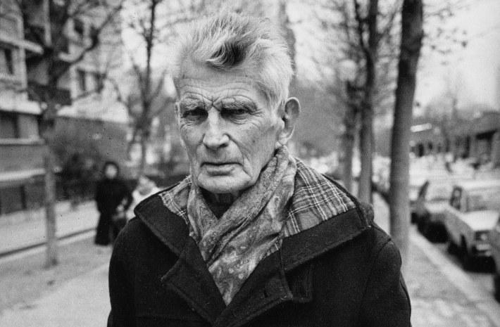 Samuel Beckett, Foto: historicalwallpapers.blogspot.com