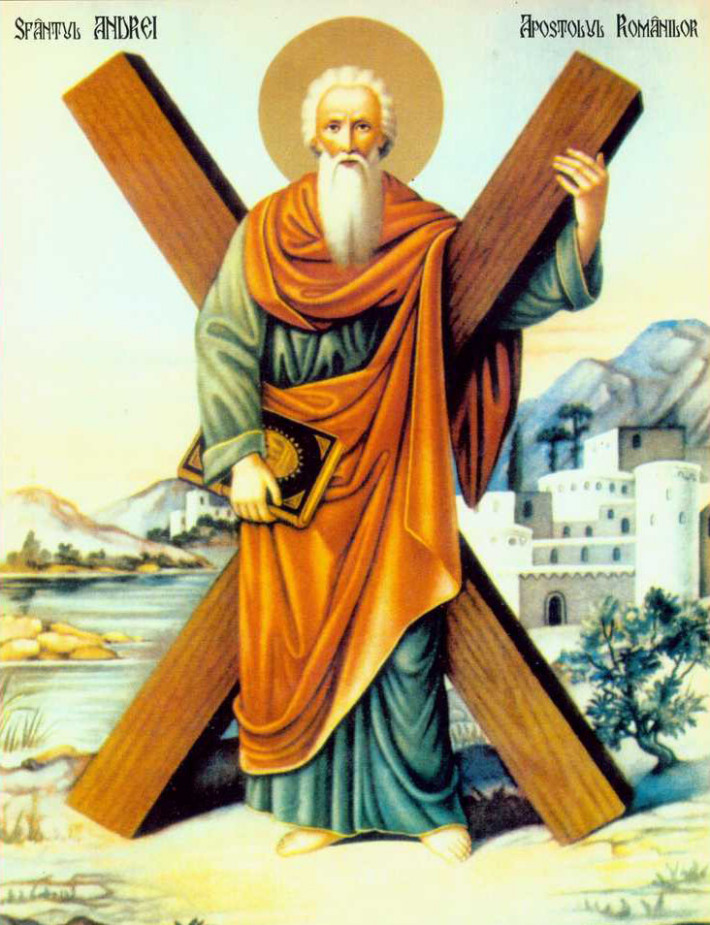 Sfantul Andrei, Foto: prosanthropos.wordpress.com