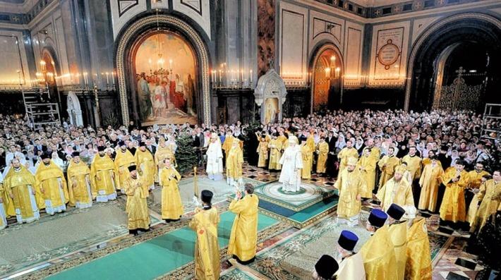 Slujba de Craciun intr-o Biserica Ortodoxa, Foto: 02varvara.wordpress.com
