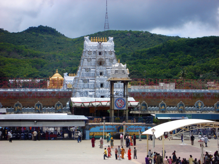 Templul Tirupati din India, Foto: southindiantempleattractions.wordpress.com