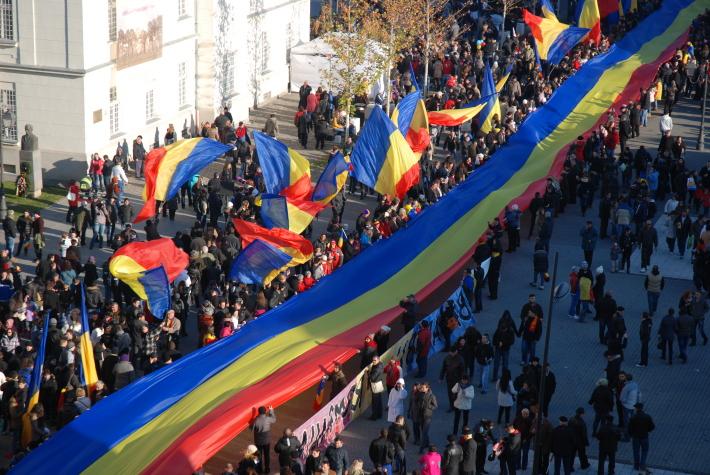 Ziua de 1 Decembrie in Alba Iulia, Foto: 1decembrie1918.wordpress.com