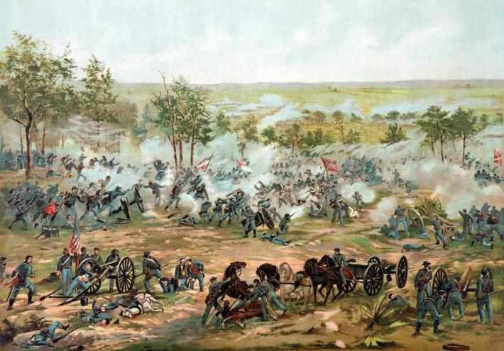 Batalia de la Gettysburg, Foto: benkritz.wordpress.com