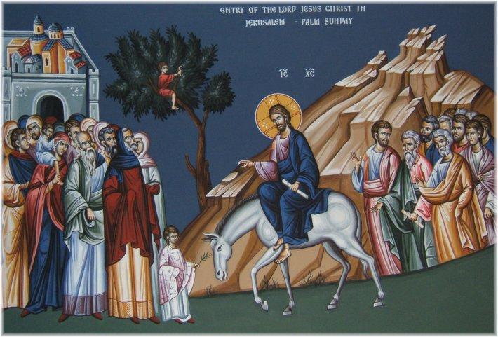 Intrarea lui Iisus in Ierusalim, Foto: catholichow.wordpress.com