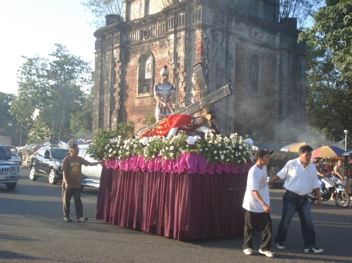 Procesiune din Vinerea Mare din Filipine, Foto: eagonzales.wordpress.com