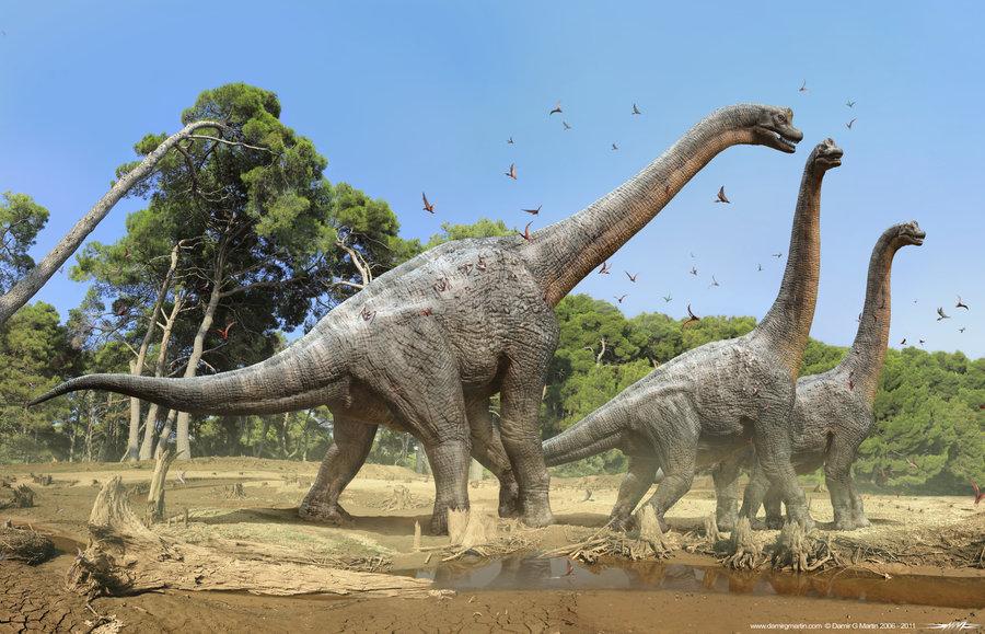 Brachiosaurus, Foto: comicvine.com
