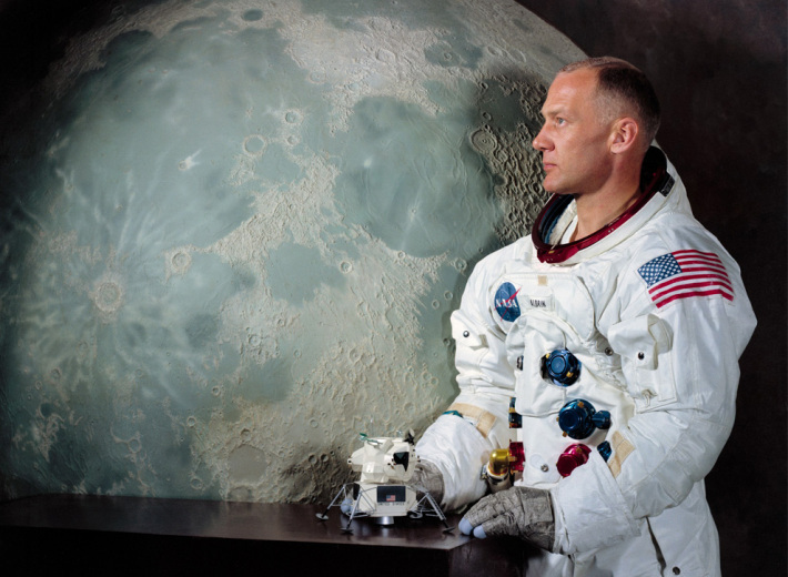 Buzz Aldrin, Foto: duoviolin4you.wordpress.com