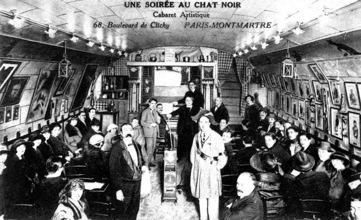 Cabaretul Chat Noir, Foto: musicadecomedia.wordpress.com