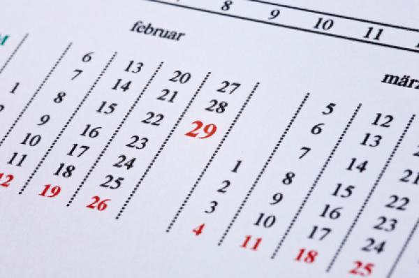 Calendarul Gregorian , Foto: timeanddate.com