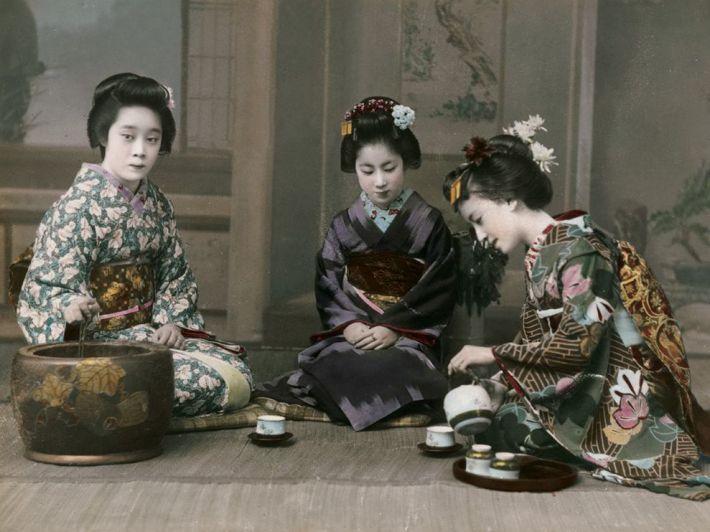 Ceremonia ceaiului in Japonia, Foto: dcmuseumgoer.com