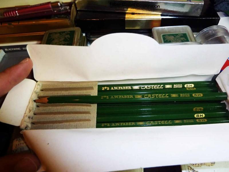 Creioane Faber Castell, Foto: milonimehta15.wordpress.com