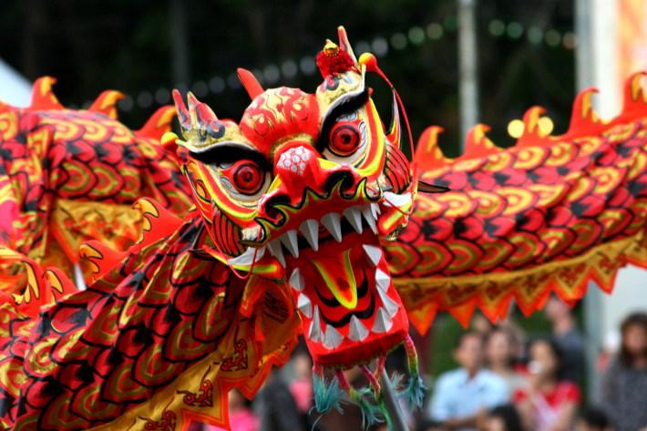 Dragon chinezesc, Foto: myretailmedia.com