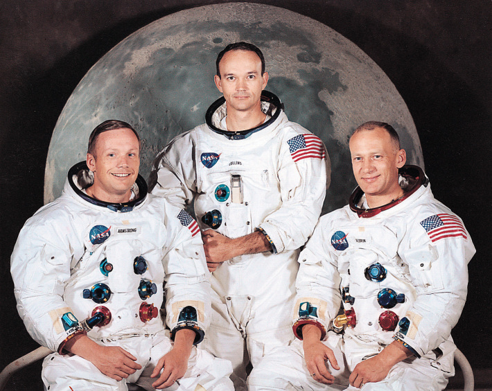 Echipa Apollo 11, Foto: tranquillitybase.wordpress.com