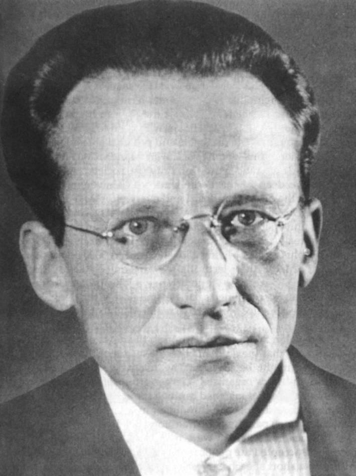 Fizicianul Erwin Schrödinger, Foto: profyogendra.wordpress.com
