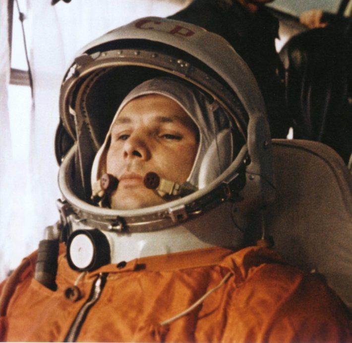 Iuri Gagarin primul barbat care a calatorit in spatiu, Foto: envoid.wordpress.com