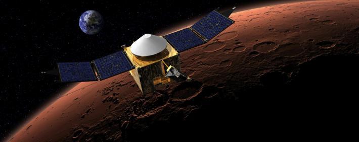 MAVEN pe Marte, Foto: standaard.be