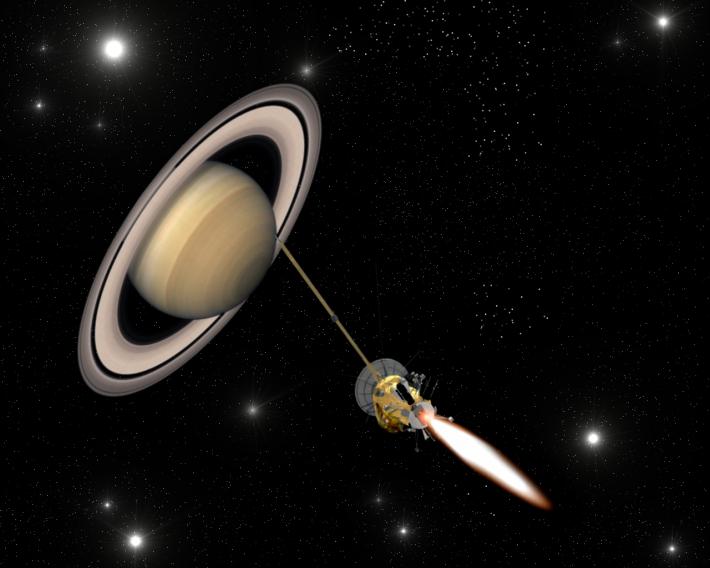 Misiunea Cassini , Foto: simotron.wordpress.com