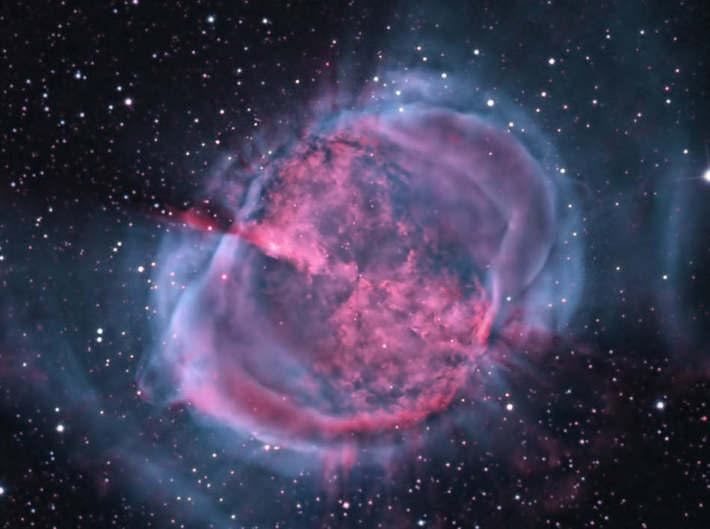 Nebuloasa Dumbbell , Foto: wordlesstech.com