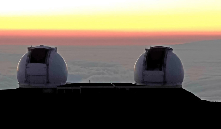 Observatorul Keck , Foto: siderealmuse.wordpress.com