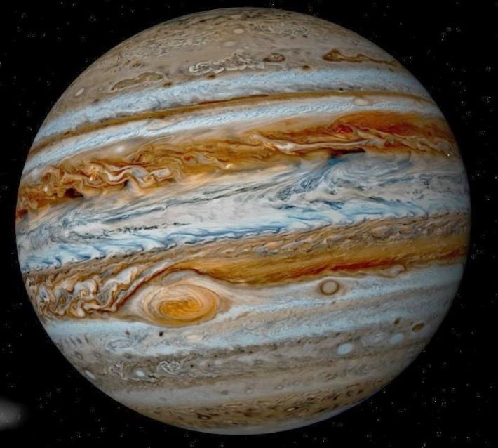 Planeta Jupiter, Foto: theothersshoe.wordpress.com
