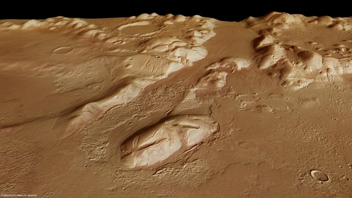 Relieful Planetei Marte, Foto: imperiumsolis.blogspot.com