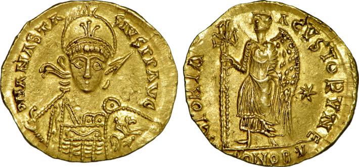 Solidusul, monede bizantine, Foto: commons.wikimedia.org