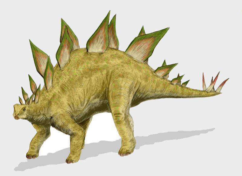 Stegosaurus, Foto: ultraviolet.unhaltable.com