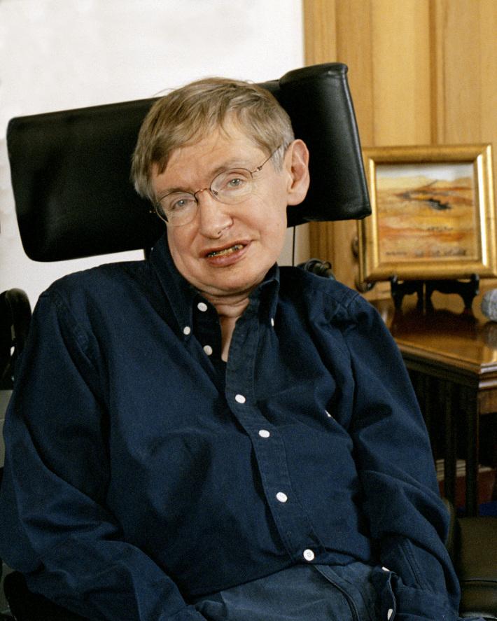 Stephen Hawking, Foto: englishosaca.wordpress.com