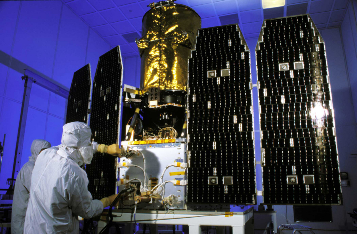 Telescopul GALEX, Foto: americaspace.com