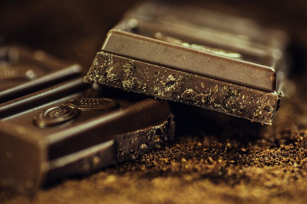 cuburi de ciocolata