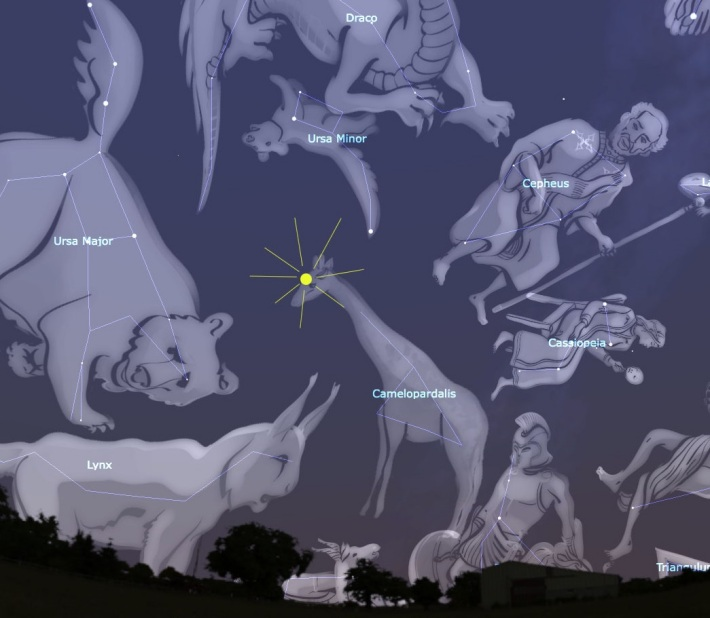 Pozitionarea Constelatiei Camelopardalis, Foto: universetoday.com