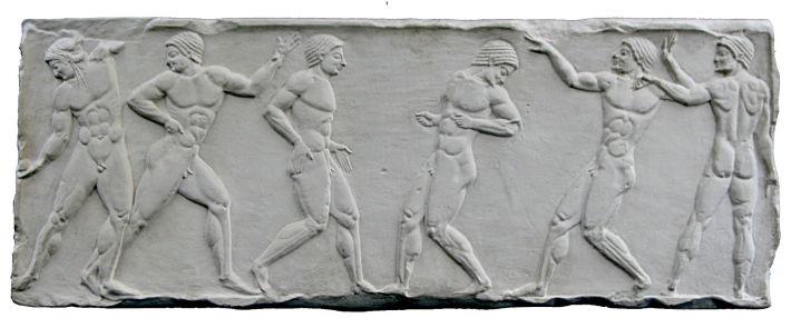 Basorelief ilustrand Jocurile Olimpice, Foto: en.wikipedia.org