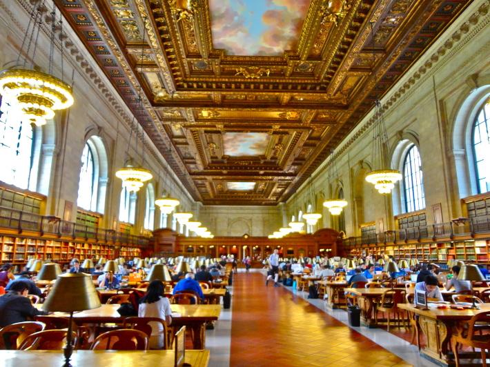 Biblioteca publica din New York, Foto: intothebrainwego.wordpress.com