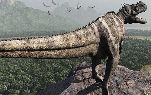 Ceratosaurus nasicornis, Foto: aza1149.files.wordpress.com