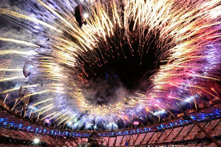 Deschiderea Jocurilor Olimpice din Londra 2012, Foto: slpl2020.wordpress.com