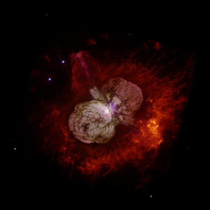 Eta Carinae prin Telescopul Hubble, Foto: en.wikipedia.org