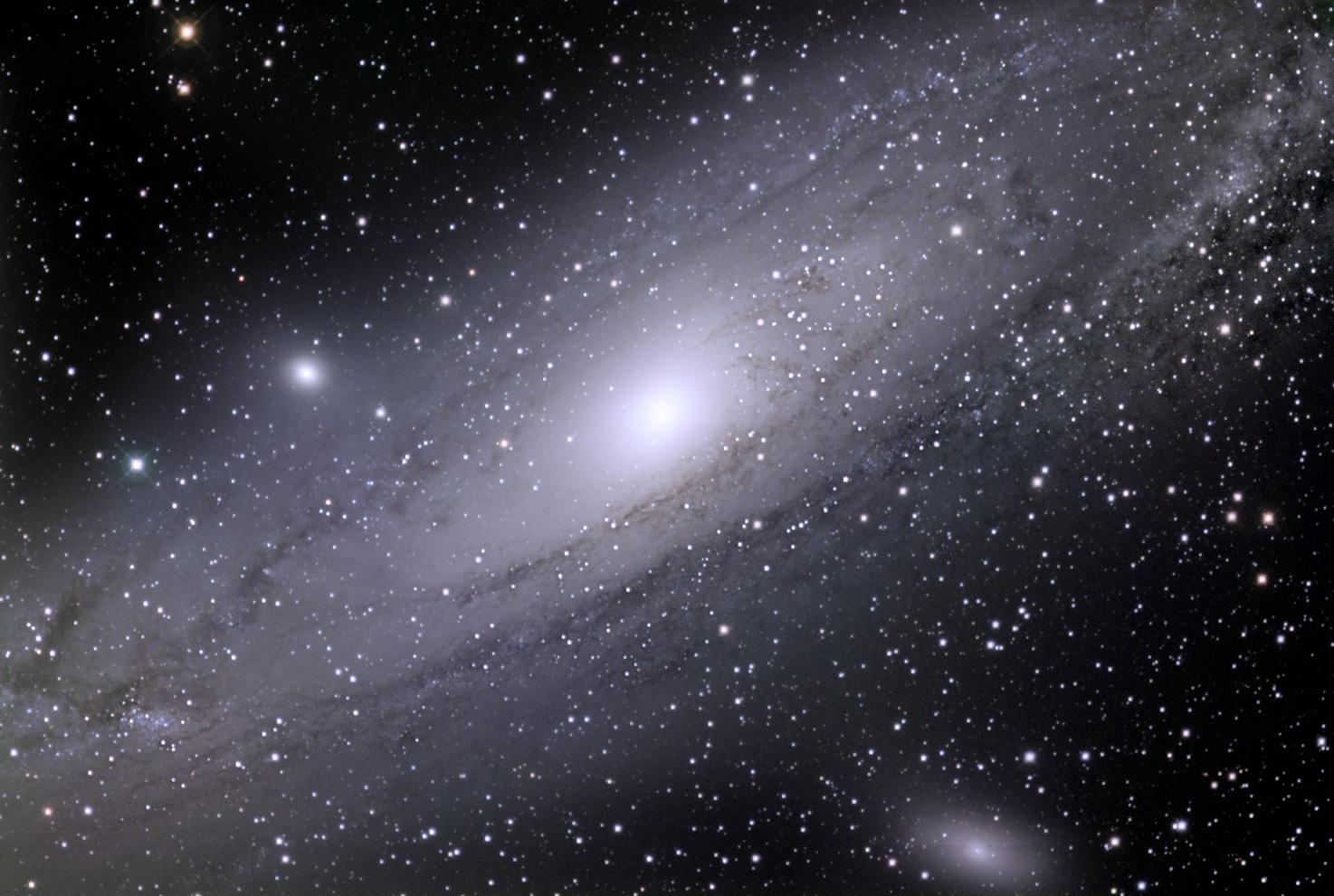 Фото галактики туманность андромеды